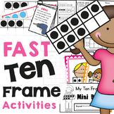 Ten Frame Fast Prep Activities