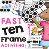 Ten Frame Activities - Fast, Fun and Easy to Prep Printables