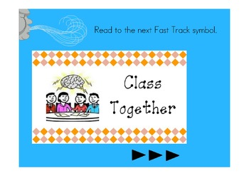 Fast Track Reading Shake, Rattle, & Roll Lesson 2 Flipchart