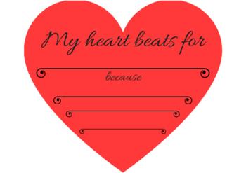 FREE! Valentine's Day Writing Center Activity