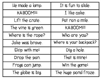 Fast Word Phrases