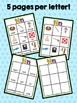ABC Activities 5:  Match and Sort - Letters Nn-Zz