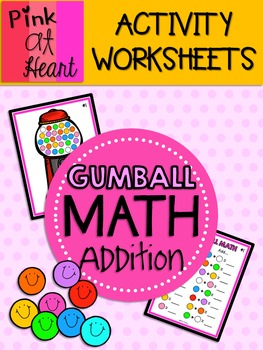 Color the Gumball Machine | Worksheet | Education.com