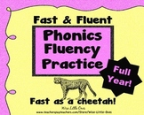 ~Fast and Fluent~ Phonics Fluency Sets for a Whole Year!