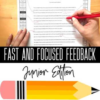 Fast and Focused Feedback Junior: Writing Workshop Editing Tool