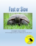 Fast and Slow  - Informational Science Text - SC.K.P.12.1