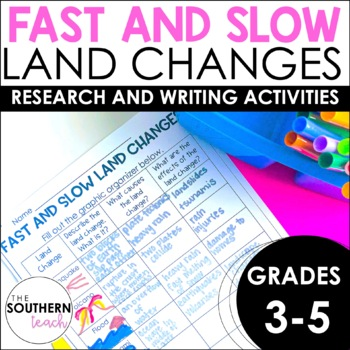 Fast and Slow Land Changes