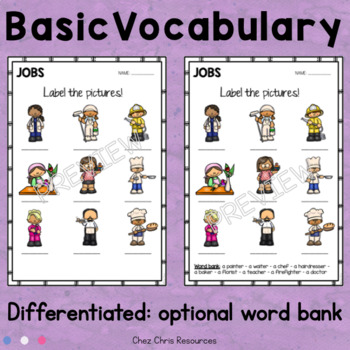 Fast finishers: Vocabulary