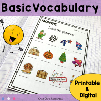 Fast Finishers - Vocabulary