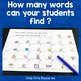 Fast finishers: alphabet - Find as many words as possible !
