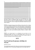 Fast food and addiction - reading comprehension (Fast Food Sucht)