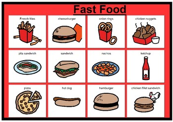Fast food matching boards
