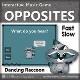 Tempo: Fast or Slow ~ Music Opposite Interactive Music Game {raccoon}