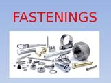 Fastenings - English Vocabulary