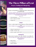 Fasting, Prayer and Almsgiving