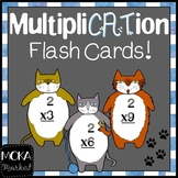 Fat Cat Multiplication Flash Cards (0-11) for Cat Lovers (