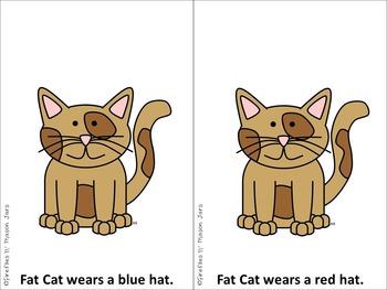 Fat Cat's Hats Freebie