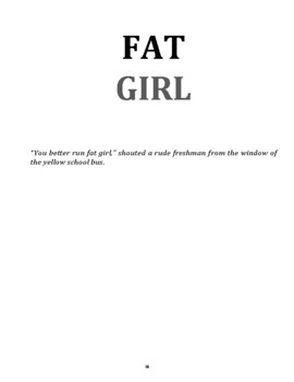 Free High-Interest Short Story with Vocab and Questions: Fat Girl