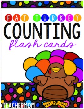 Fat Turkey Number [Counting] Cards