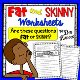 Fat and Skinny Questions (writing questions for literature
