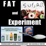 Teen Health Lesson: Fat and Sugar Nutrition Lab in Your Cl