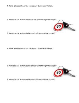 Fatal Car Crashes Mini-Quiz