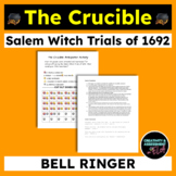 """The Crucible: Anticipation """"Guide"""" Activity, Door Entry Cards, Bell Ringer"""