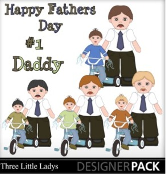 Father Son Clipart