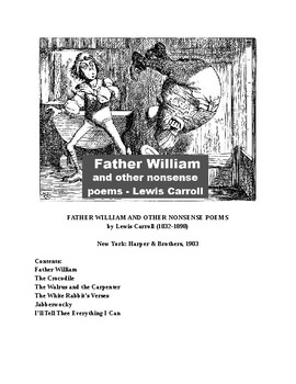 Father Williams  and Other Nonsense Poems