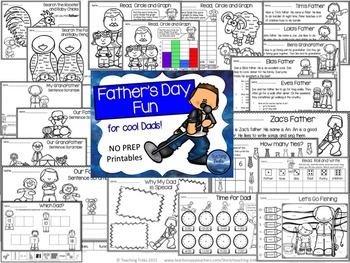 Father's Day Activities Language and Math