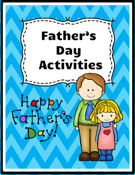 Father's Day Activities (Third Sunday in June!)