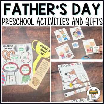 Father's Day Preschool Activities and Centers