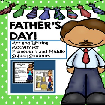 Father's Day Activity for Middle School