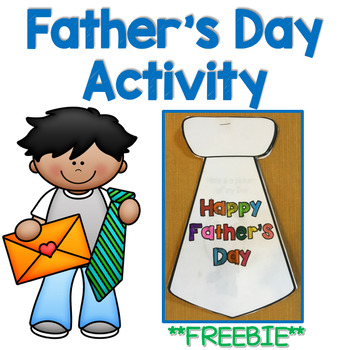Father's Day Activity **FREEBIE**