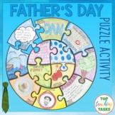 Father's Day Activity Puzzle Poster