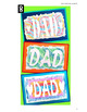 Father's Day : Art Project, Printing with oil pastels