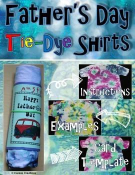 Tie Dye Shirts | Father's Day Art