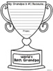 Father's Day Awards - Writing Template and Gift