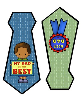 Father's Day Banner (blue and green)