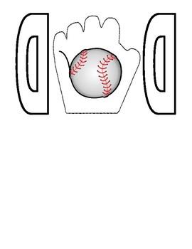 Father's Day Baseball Card