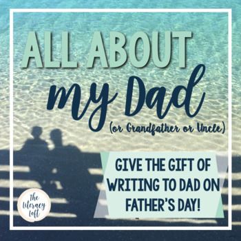 Father's Day Booklet {All About My Dad}