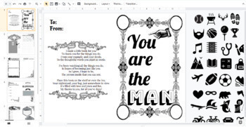 Father's Day Booklet   Word Search, Fathers Day Craft   Card Activity Google