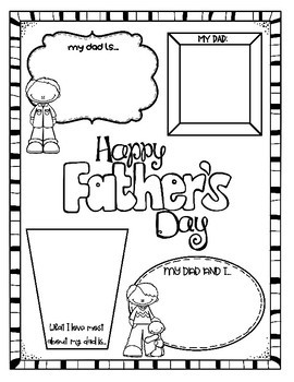 Father's Day Bundle: 3 No-Prep Printables