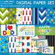 Father's Day Clipart + Paper Bundle