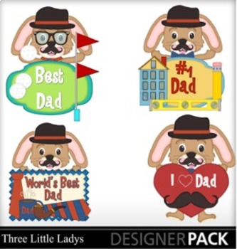 Father's Day Bunnies 2