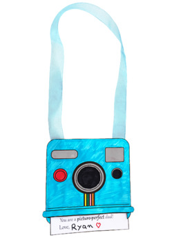 Father's Day Camera Craft - Gift for Kindergarten and First Grade