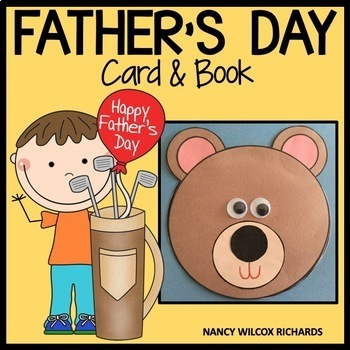 Father's Day Card and Book   K-3