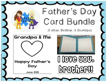 Father's Day Card Bundle