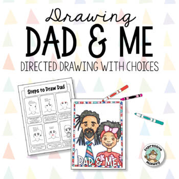 Father's Day Card: Drawing Dad & Me