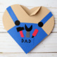 Father's Day Card - Handy Dad Heart Craft